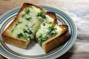 じゃこネギチーズトースト