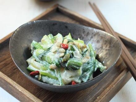 青菜と豆腐のざっくり和え