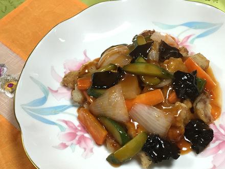 韓国酢豚(タンスユク)