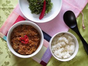 肉味噌ビビンバ