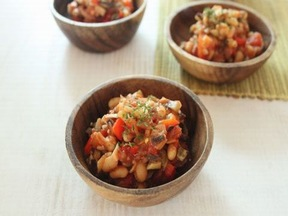 野菜と豆の煮物