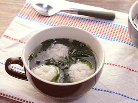 レンコン団子のスープ