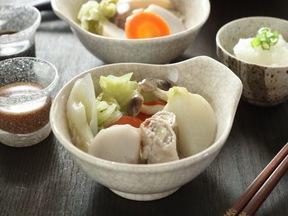 豚肉と野菜の蒸し煮鍋