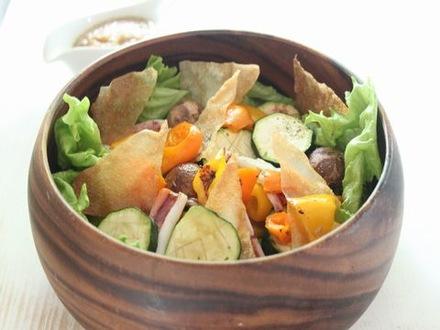 ざっくり食べるサラダ