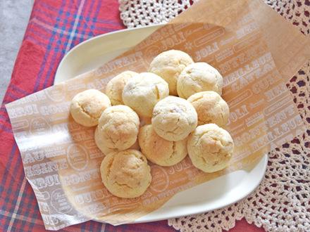 おからとナッツのボールクッキー