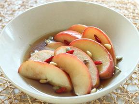 ソテーリンゴのシロップ煮