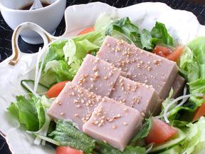 そば豆腐サラダ