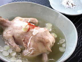 丸鶏のサムゲタン