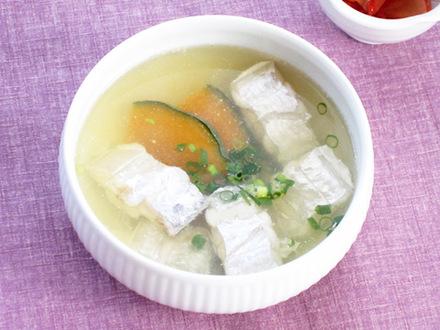 タチウオのスープ