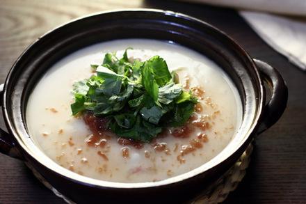 梅風味のご飯茶碗蒸し