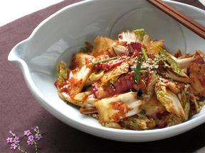 白菜とタコの浅漬けキムチ