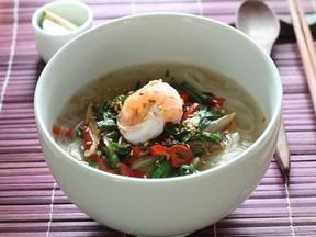 野菜の汁麺