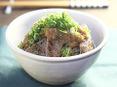 牛肉のダイコンおろし丼
