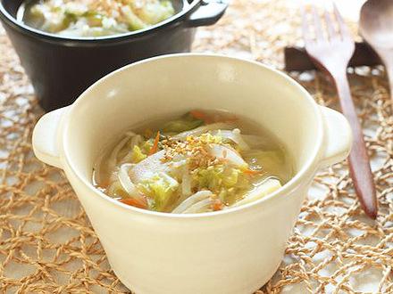 高野豆腐と野菜のスープ