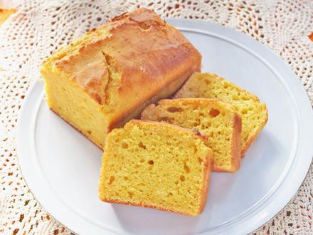 粉豆腐のオレンジパウンドケーキ