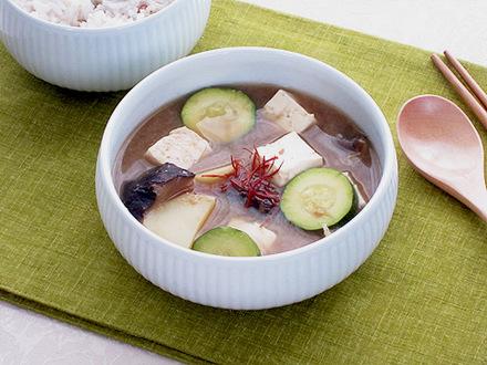 ベジ味噌チゲ(ベジテンジャンチゲ)
