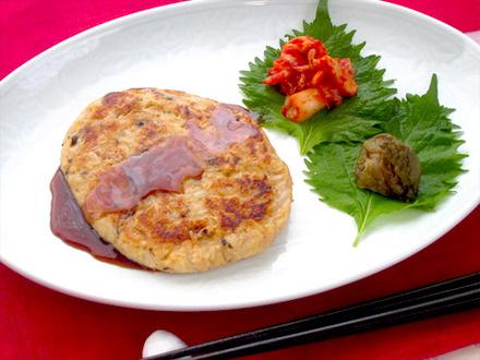 大豆の韓国風ハンバーグ(コントッカルビ)