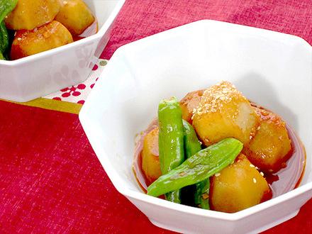 サトイモのピリ辛煮