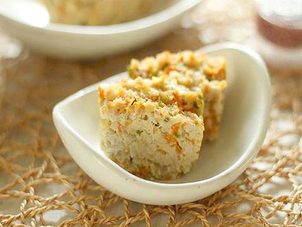 高野豆腐のミートローフ