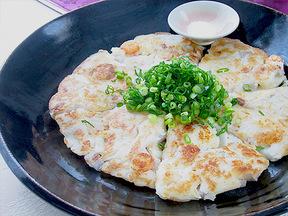 レンコン海鮮チヂミ