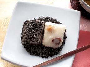 黒ゴマ餅(フギムジャトック)