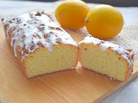 生おからのレモンパウンドケーキ