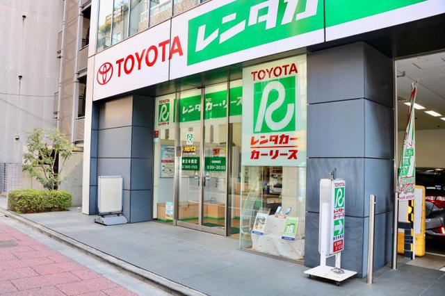 営業店全国1,200ヵ所以上は業界最大級「トヨタレンタカー」