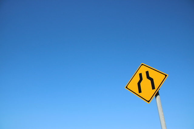 よく見かける警戒標識