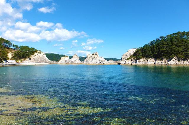 「岩手県」名勝「浄土ヶ浜」から遠野までの海沿いドライブ