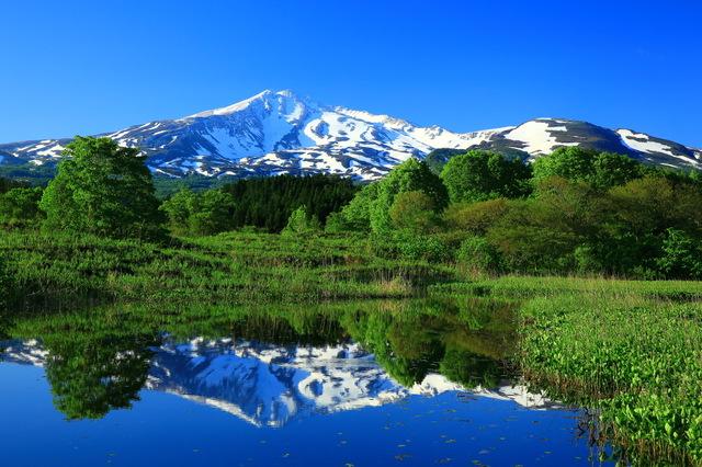 「山形県」季節感のある自然豊かな内陸の2コース