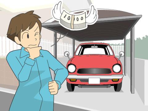 車を所有するよりも維持費を抑制