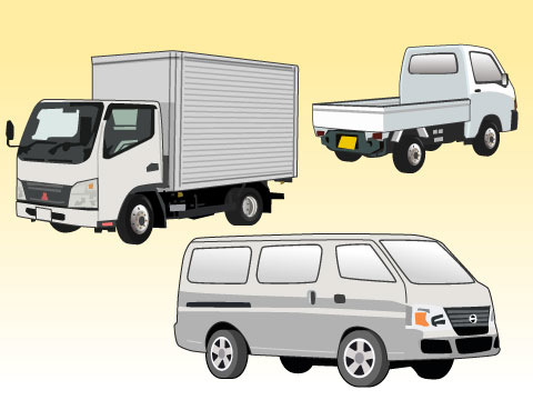 引越しにオススメのレンタカー(トラック)