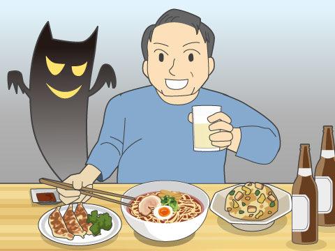 現代人の食生活の問題