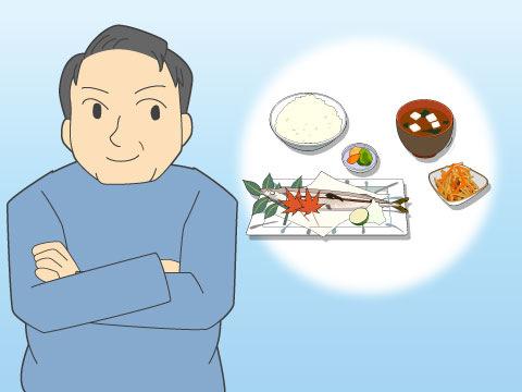 質の良い食生活への転換