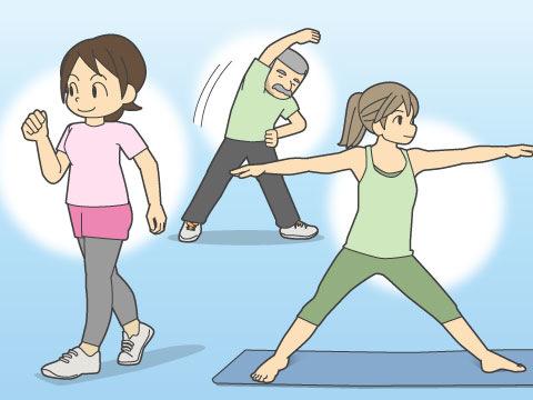 適度な運動の継続