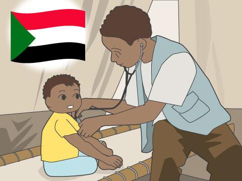 南スーダンの医療