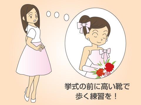 ウエディングドレスに関するトラブル