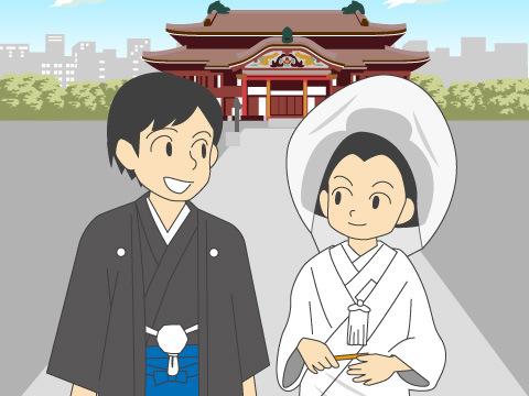 神社仏閣での挙式