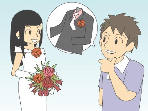 花嫁のドレスと相性の良い衣裳は