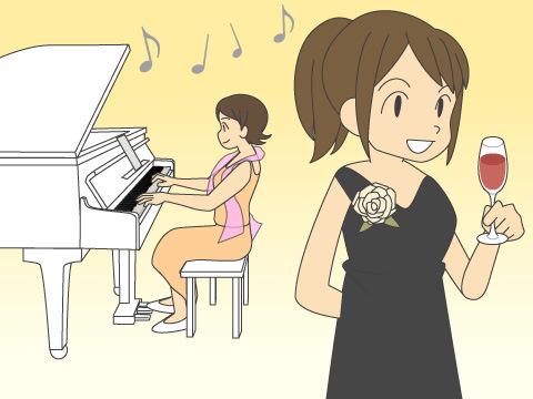歌や音楽の生演奏