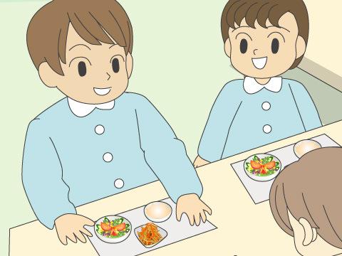 給食の幼稚園