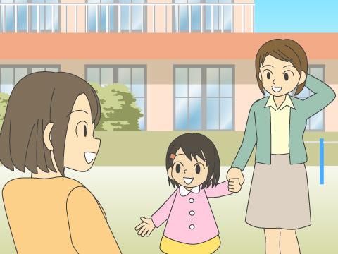 幼稚園で、ママ友を作る方法