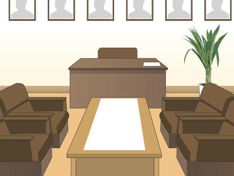 職員室と校長室