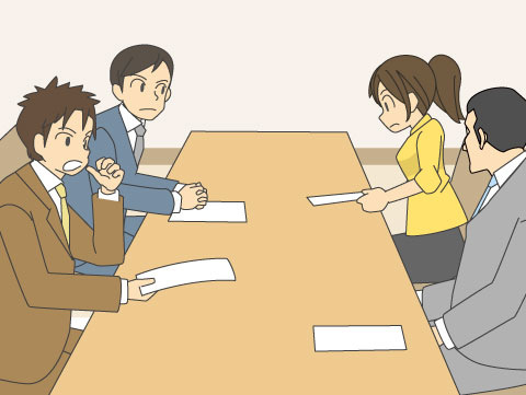 8:00過ぎ~8:40頃/職員会議や個々の打ち合わせ