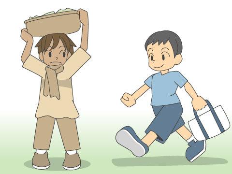 小学校生活と教育事情