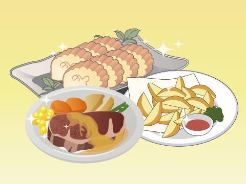 マーケットピア】食材の代表的な切り方と名前を覚えよう