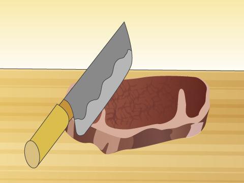 肉の切り方
