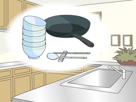 収納しやすい調理器具を買う