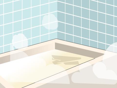 風呂の掃除