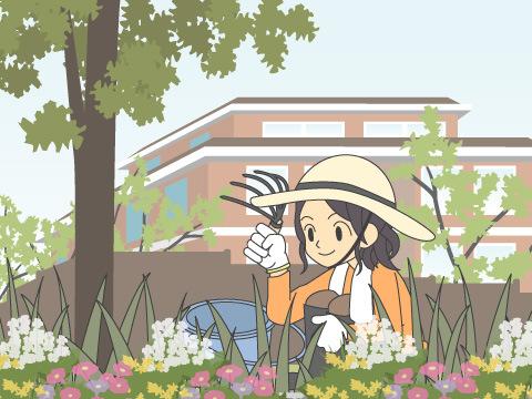 植物の剪定
